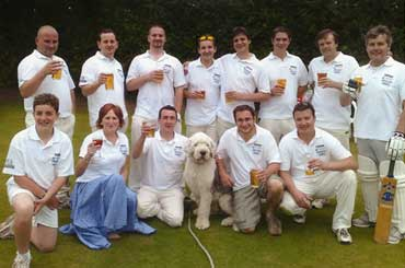 The Bell Inn Cricket team